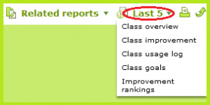 IXL Insights - Last 5 Reports