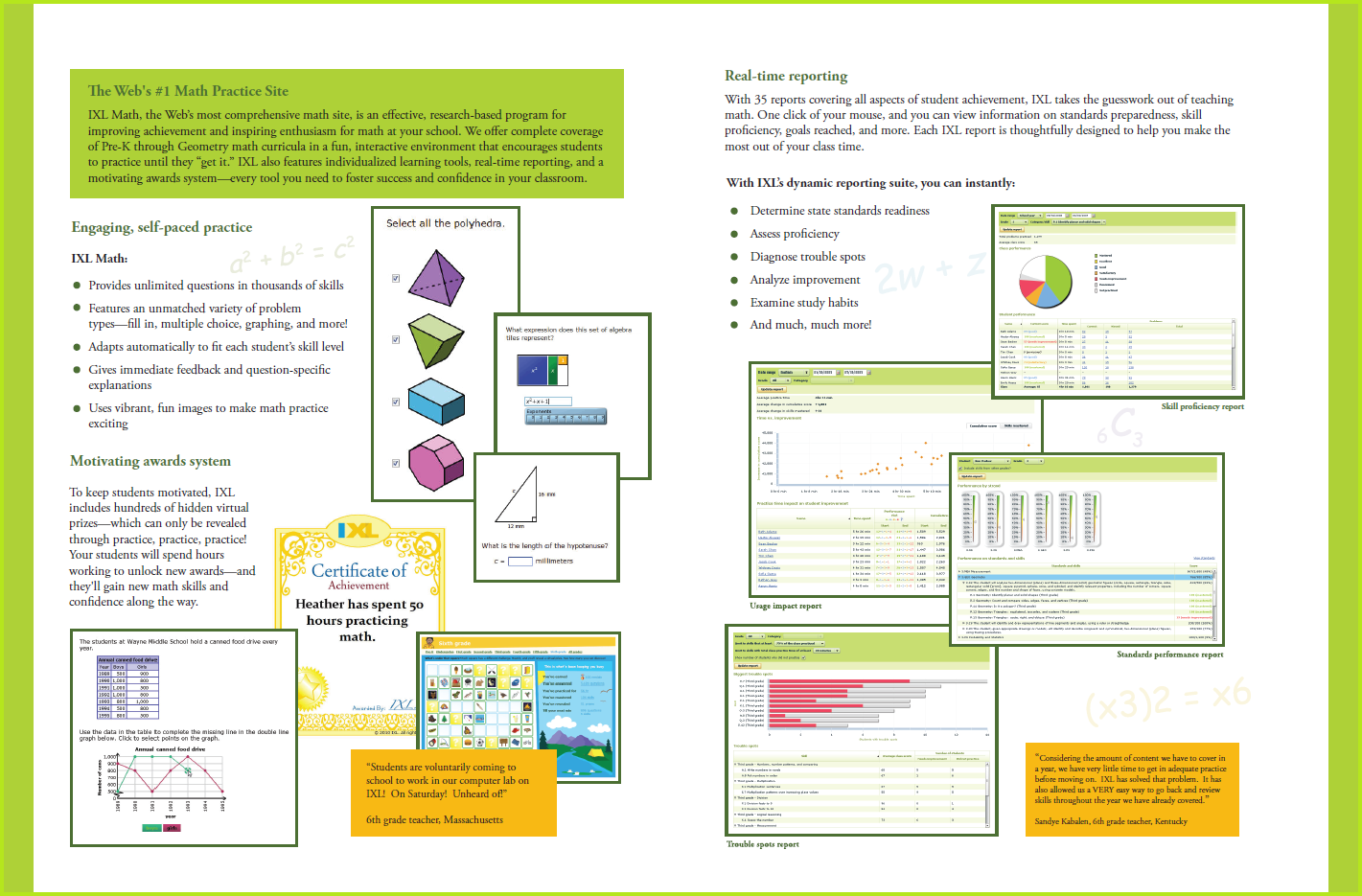 IXL Insights – Request a Brochure