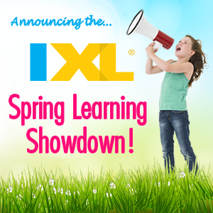 IXL Spring Learning Showdown