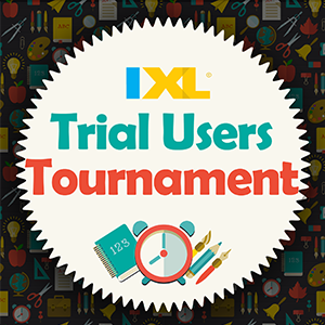 IXL Trial Users Tournament