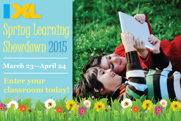 The IXL Spring Learning Showdown is Back!