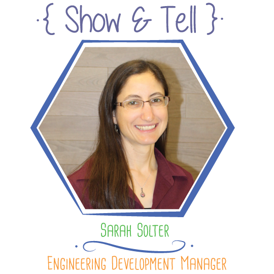Show and Tell: Sarah Solter