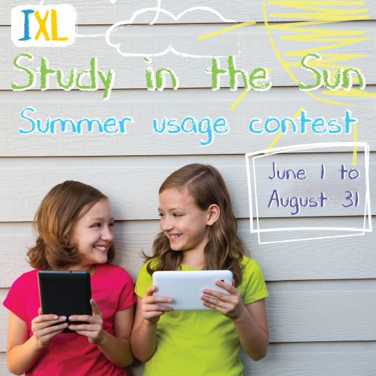 Study with IXL This Summer and Win Prizes!