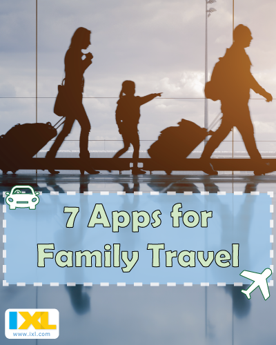 7 Apps for Stress-Free Family Travel