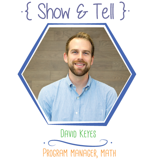 Show and Tell: David Keyes