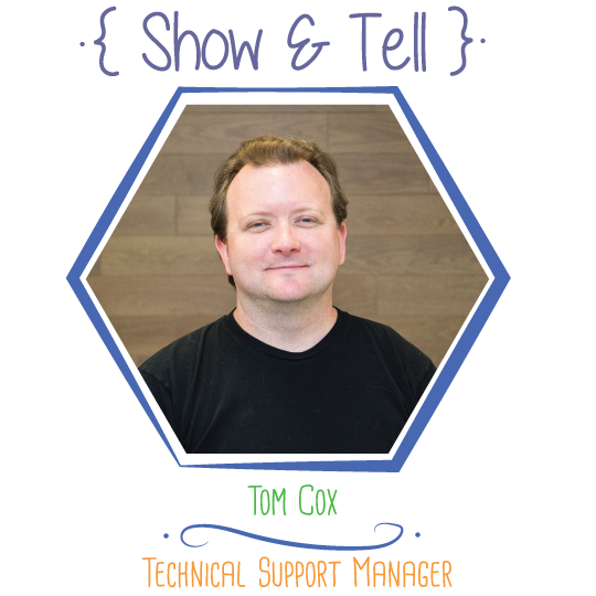 Show and Tell: Tom Cox