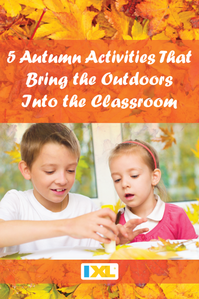 5 Ideas to Bring the Outdoors into the Classroom