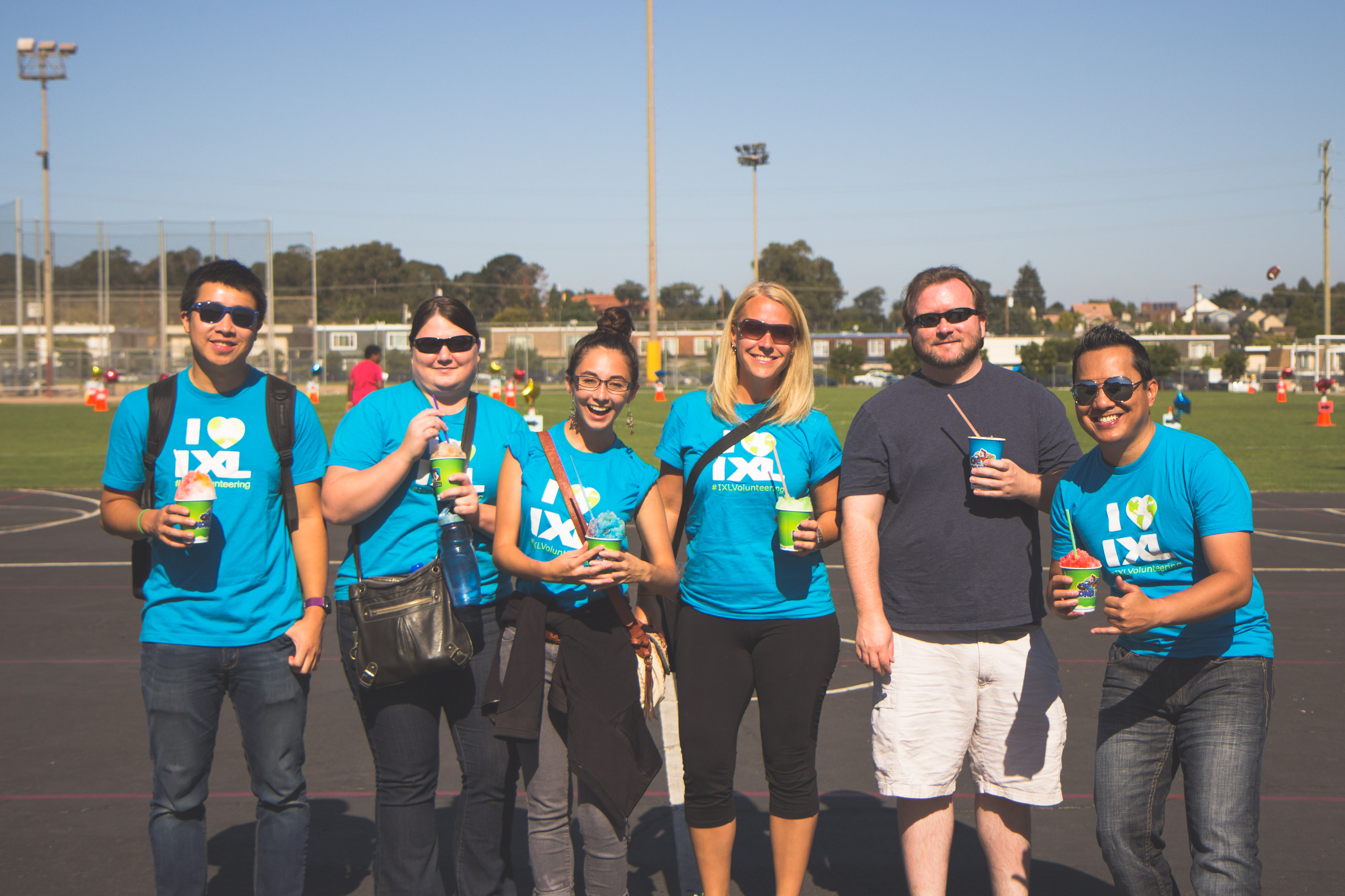 IXL Volunteering: Supporting a School District Walk-a-Thon