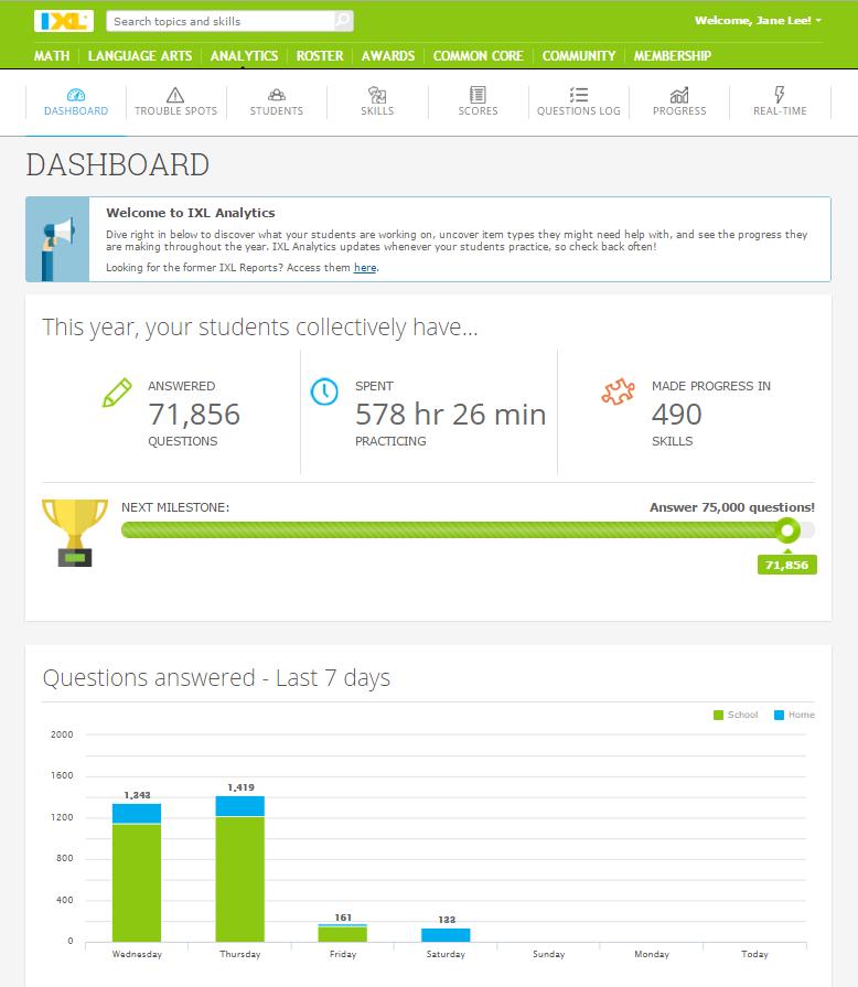 Meet IXL Analytics: Classroom Data So Intuitive, It's Fun!