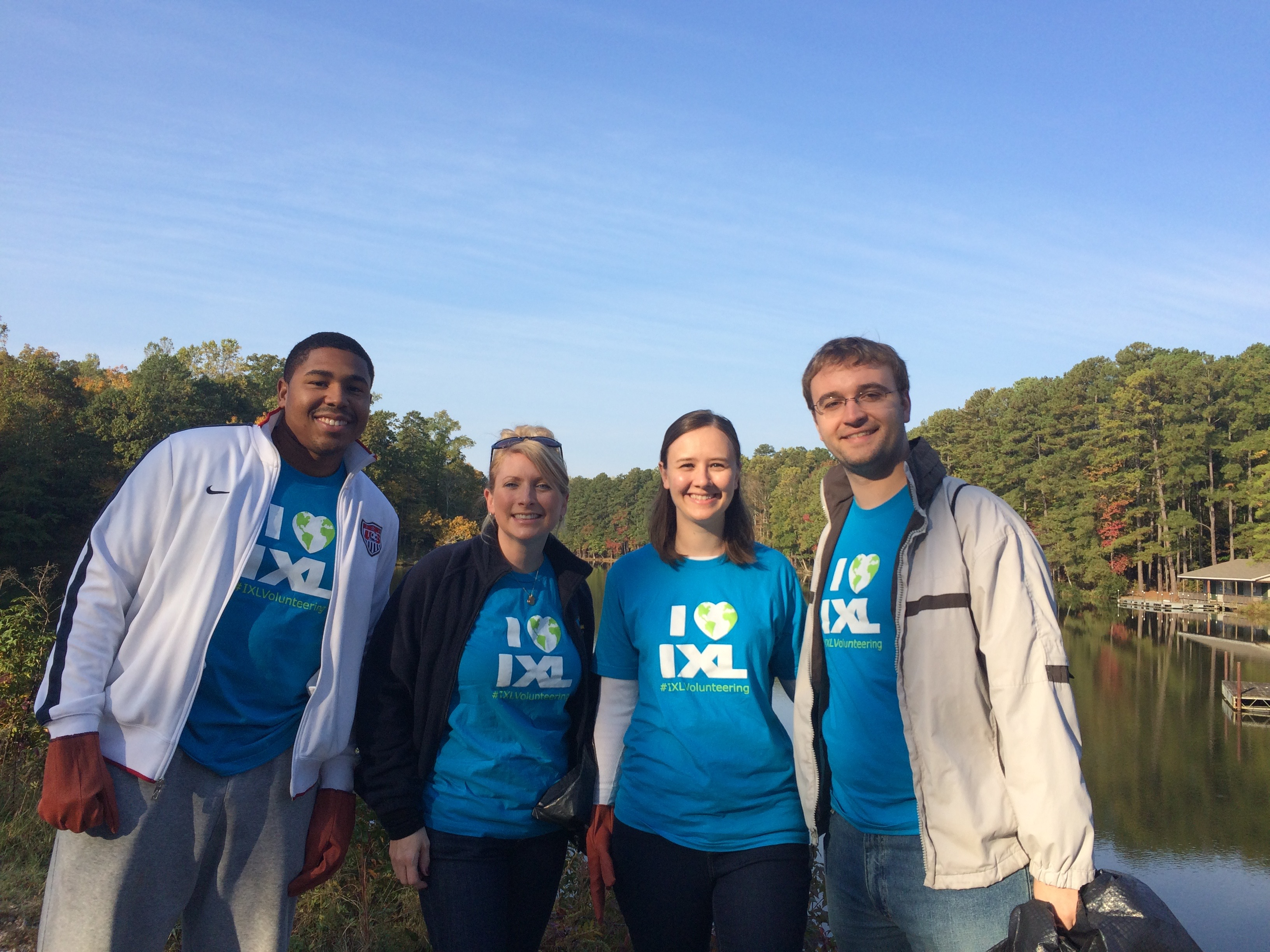 IXL Volunteering: The Raleigh Team Ventures to the Great Outdoors