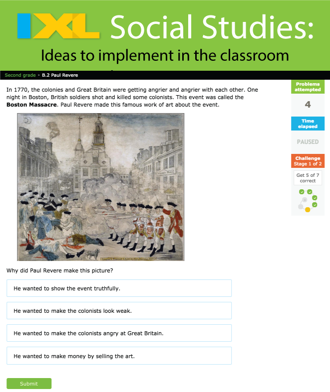 4 Ideas to Incorporate IXL Social Studies in Your Lessons