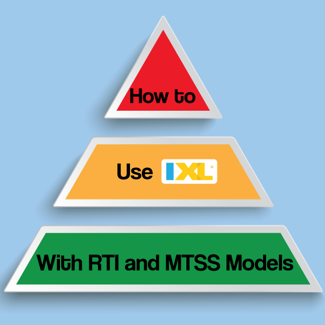 How to Implement IXL with an RTI/MTSS Model