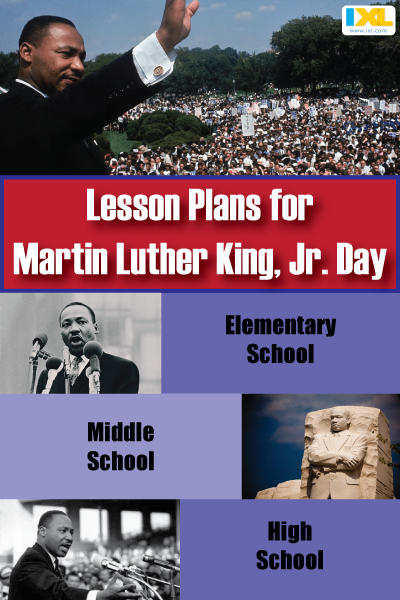 """I Have a Dream"": Lesson Plans for MLK Day"
