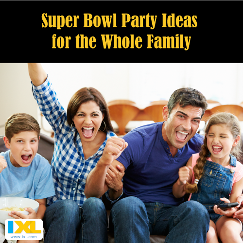 Super Bowl Party Ideas Sure to Keep the Kids Entertained