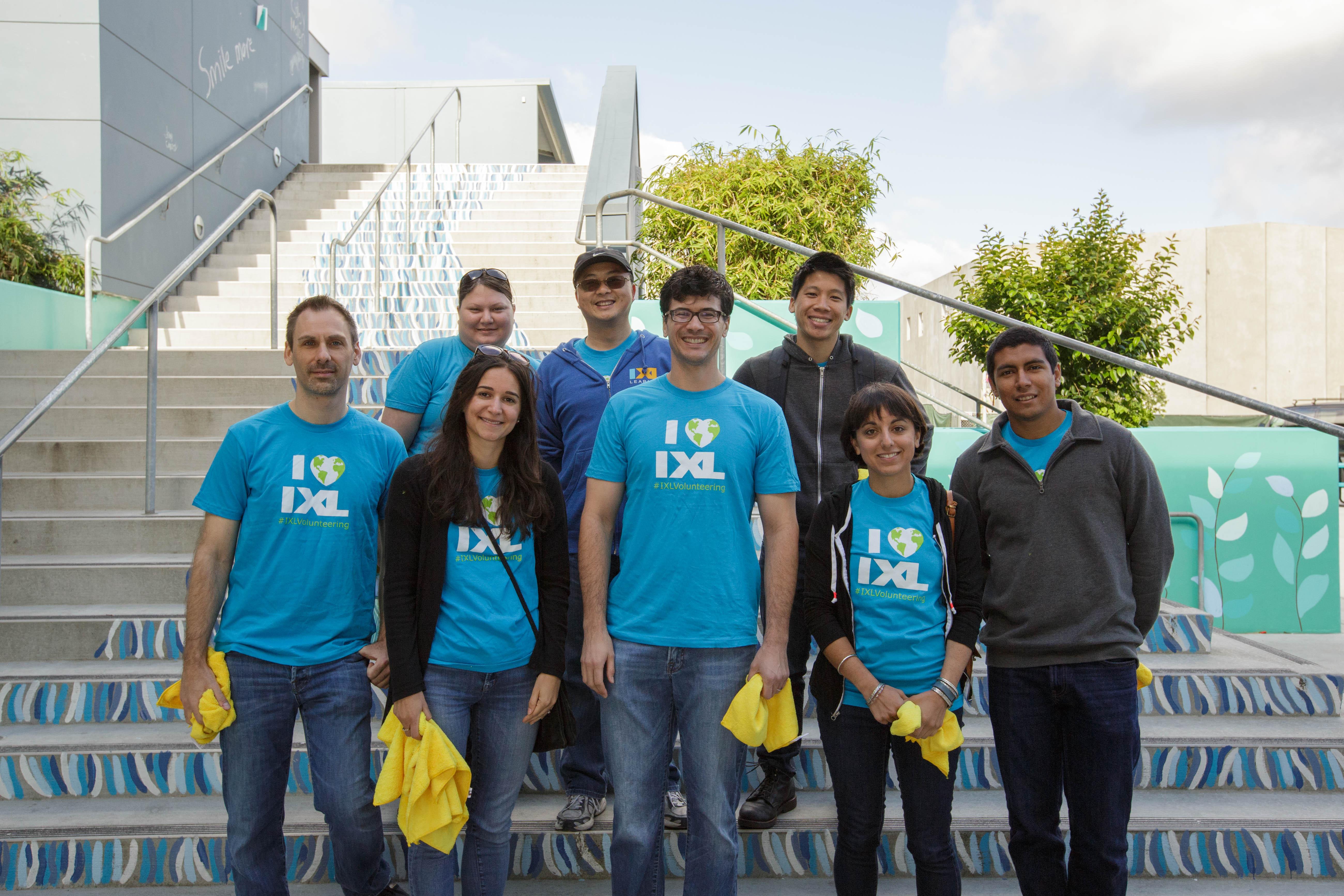 IXLers Head Back to School—To Volunteer!