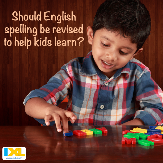 Should the English Spelling System Be Revised to Help Kids Learn?