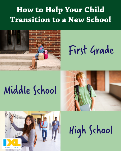 How to Help Your Child Transition into a New School Year