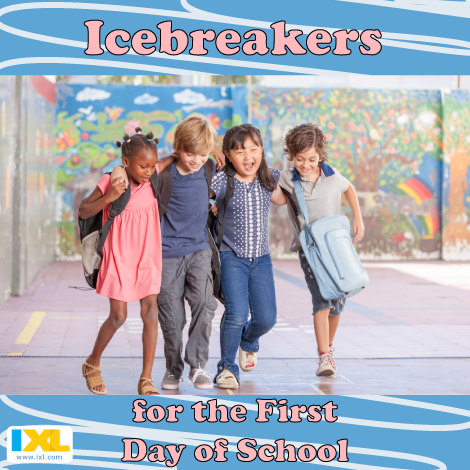 Entertaining Icebreakers for the First Day of School