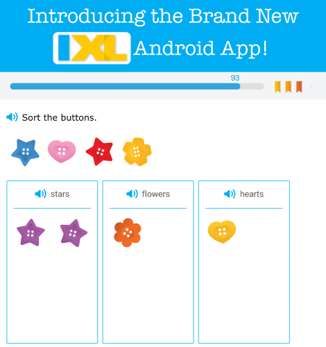 Introducing the Brand New IXL Android App!