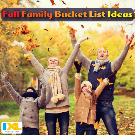 10 Ideas for a Fall Family Bucket List
