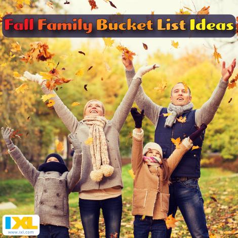 10 Ideas for a Fall Family Bucket List