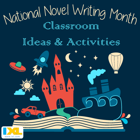 NaNoWriMo Inspiration for Your Classroom