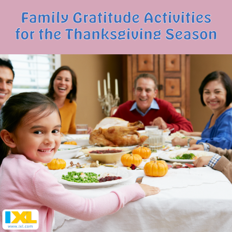 Give Thanks: Thanksgiving Gratitude Activities