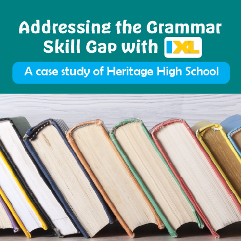 Addressing the Grammar Skill Gap with IXL
