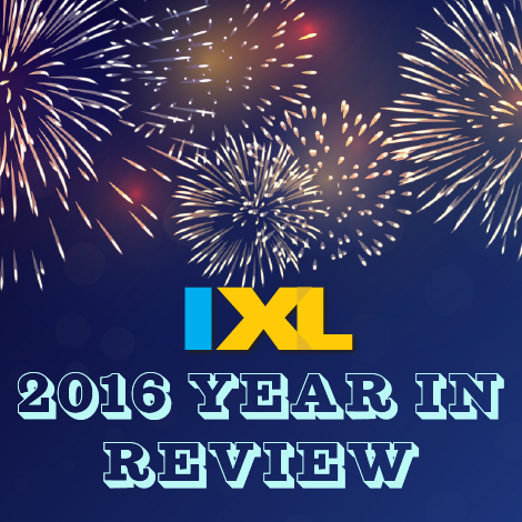 IXL's 2016 Year in Review
