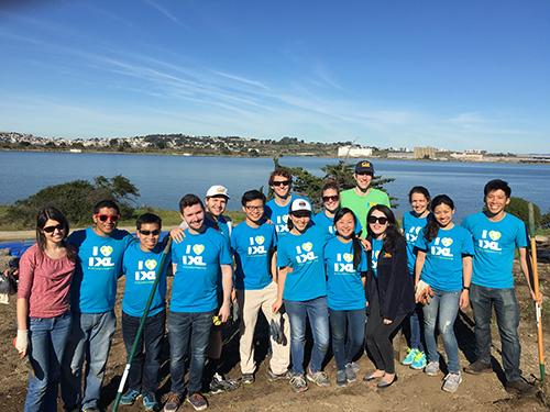 IXL Helps an Urban State Park Blossom