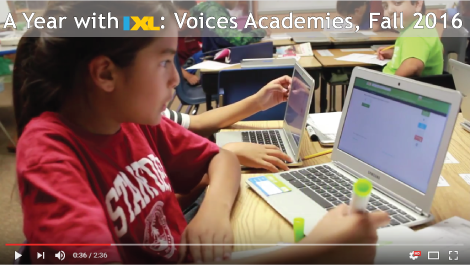 A Year with IXL: Voices Academies