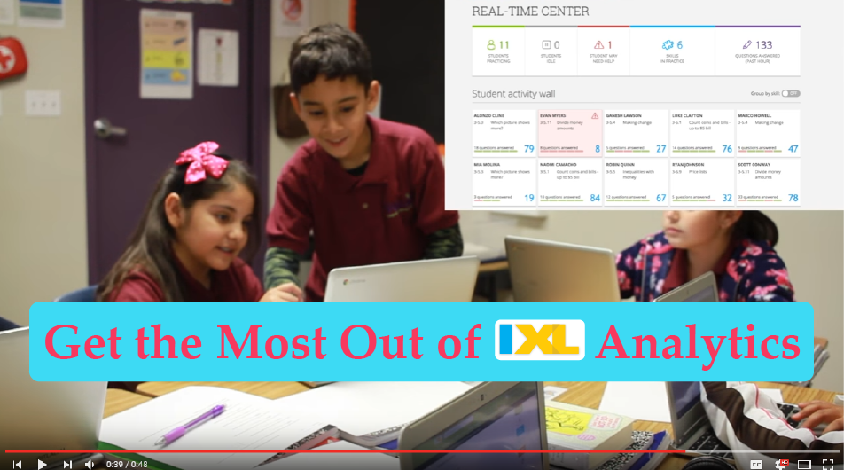 IXL Super Strategies: Get the Most Out of IXL Analytics