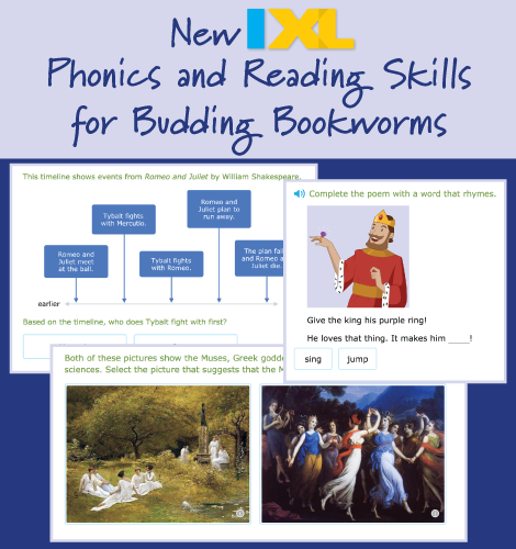 New Phonics and Reading Skills for Budding Bookworms!