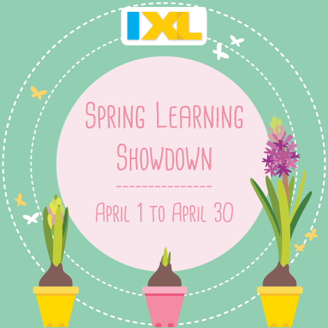 The 2017 IXL Spring Learning Showdown Is Here!