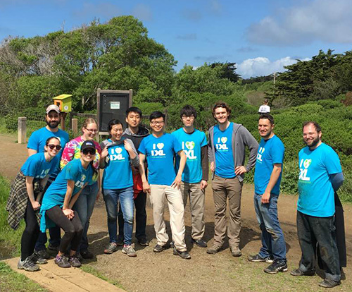IXLers Do Some Spring Cleaning in a Bay Area Park