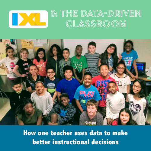 IXL in the Data-Driven Classroom