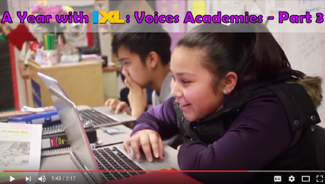 A Year with IXL: Voices Academies - Part 3