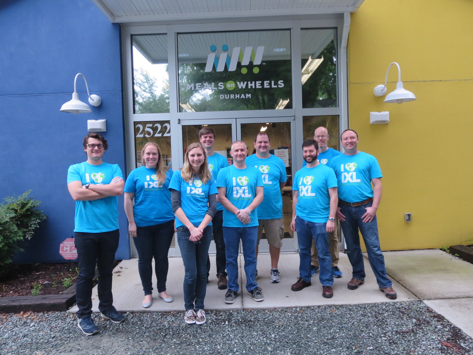Food for All: IXL Volunteers at Meals on Wheels of Durham