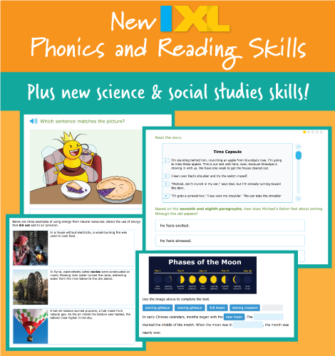 Head back to school with brand new phonics and reading comprehension skills!