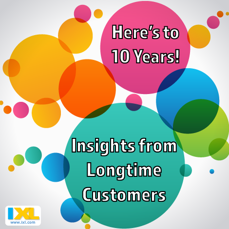 Here's to 10 years! Insights from Longtime Customers