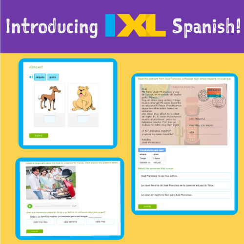 Introducing IXL Spanish