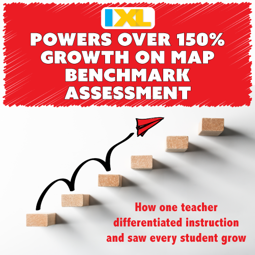 IXL Math Powers over 150 Percent Growth on MAP Benchmark Assessment