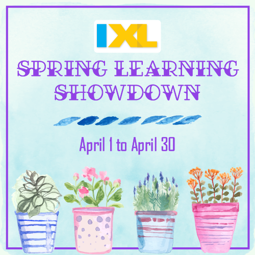 Enter the 2018 IXL Spring Learning Showdown!