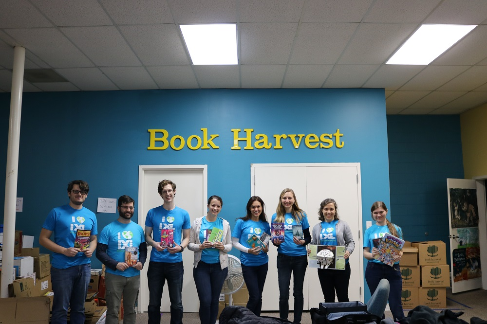 All Booked: IXLers Volunteer with Book Harvest