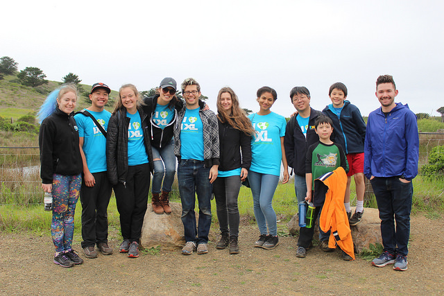 IXL volunteers help restore a Bay Area park