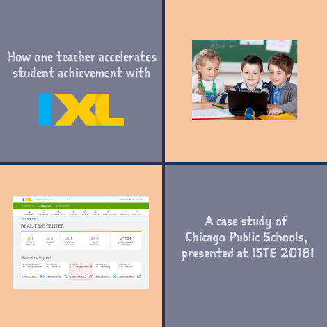 How one teacher accelerates student achievement with IXL!