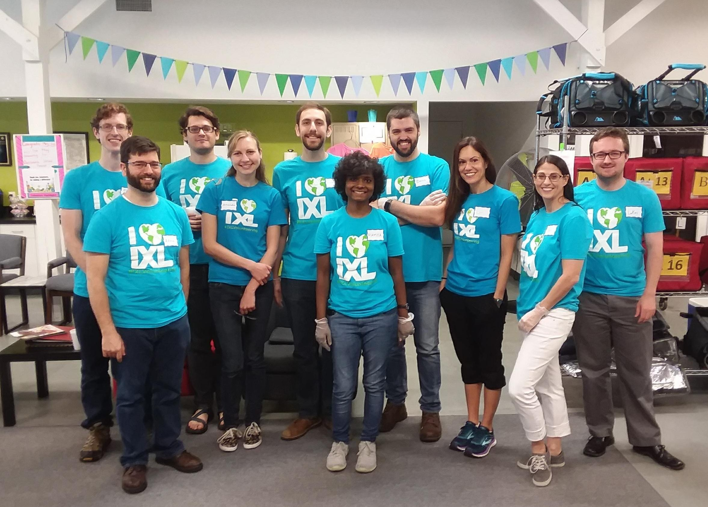 IXL Volunteers Return to Meals on Wheels of Durham