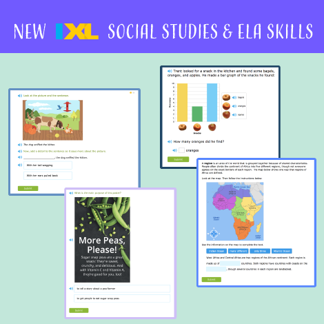 Back to school is here, along with new ELA and social studies skills!