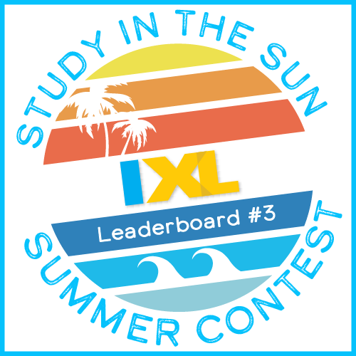 IXL Study in the Sun Contest 2018: Leaderboard Update #3