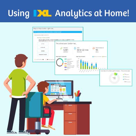 Using IXL Analytics at Home!